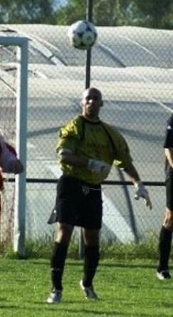 Bruno, gardien lors de la saison de la promotion !
